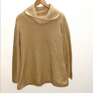 💛 Style&Co Gold Cowl Neck Chunky Sweater
